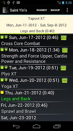 Page 2 : Best android apps for p90x3 - AndroidMeta