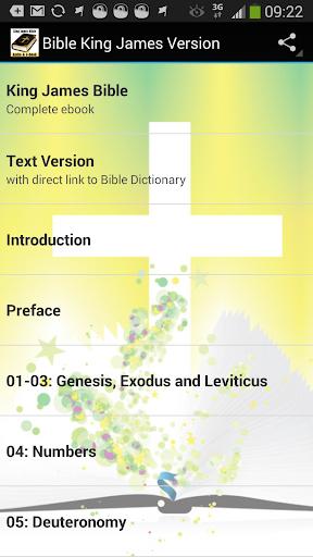 Bible King James Audio Text