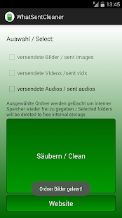 WhatSentCleaner- screenshot thumbnail