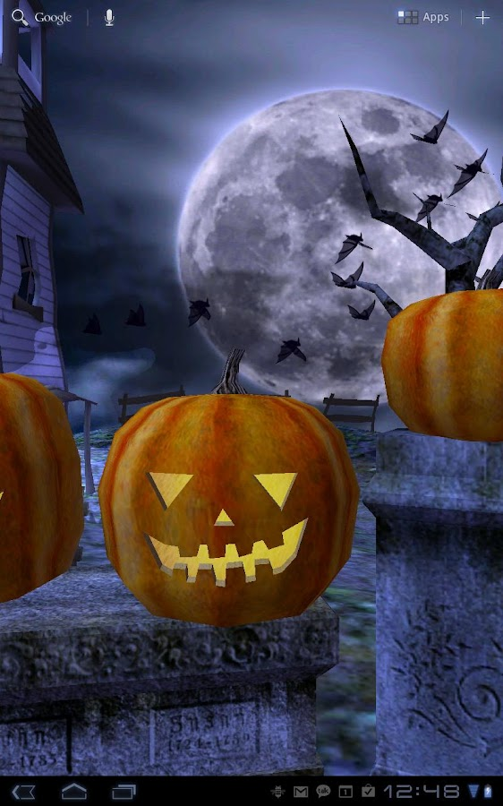 Halloween Live Wallpaper - screenshot