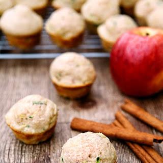Zucchini Apple Mini Muffins