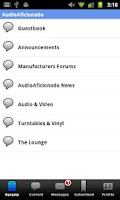 Screenshot of Audio Aficionado
