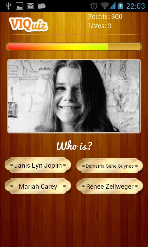 Il Quiz dei personaggi famosi - screenshot