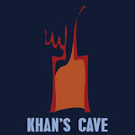Logo for Khan's Cave Grill & Tavern