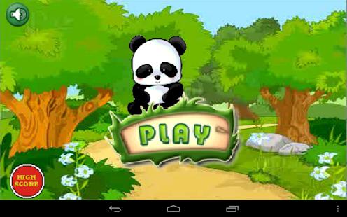 Panda Jumping