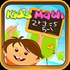 Matemáticas para niños icon