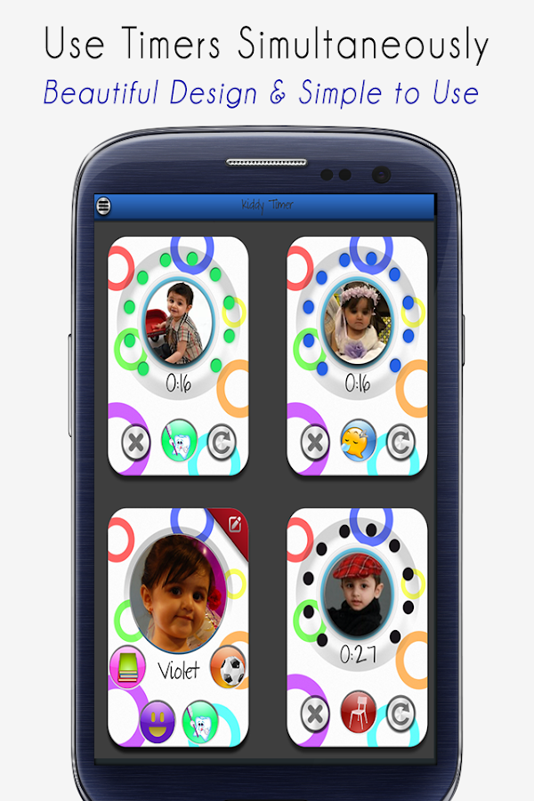 Kids Timer - Kiddy Activities - screenshot