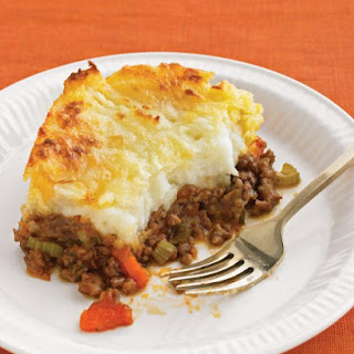 Cheddar-Topped Shepherd's Pie.