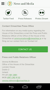 Houses of the Oireachtas- screenshot thumbnail