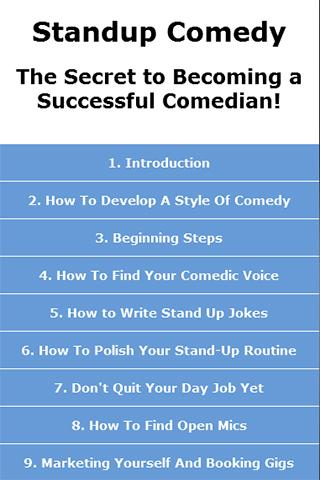 Standup Comedy Guide