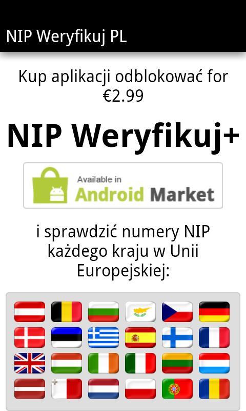 NIP Weryfikuj PL- screenshot