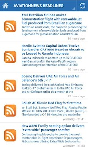Aviation News screenshot 1