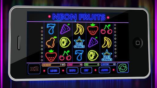霓虹燈水果
