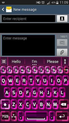 A.私. ピンクのキーボードを入力א