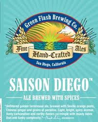 Logo of Green Flash Saison Diego