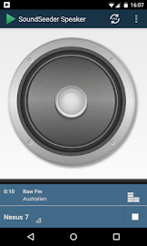 SoundSeeder Speaker Screenshot 1