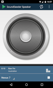 SoundSeeder Speaker - screenshot thumbnail