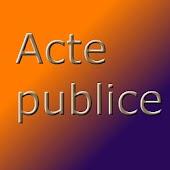 Acte Publice - Info Juridic