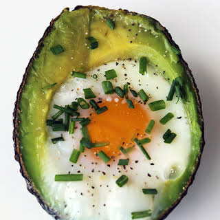 Baked Eggs in Avocado.