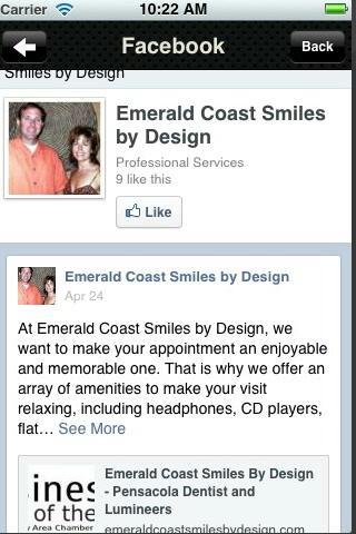 Emerald Coast Smiles- screenshot