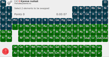 Screenshot of Periodic Puzzle