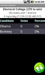 Election Results 2012 - screenshot thumbnail