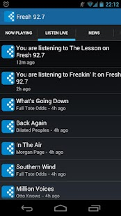 Fresh 92.7- screenshot thumbnail