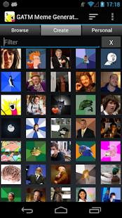 GATM Meme Generator - screenshot thumbnail