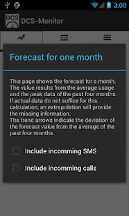 DCS-Monitor: Mobile Data Usage + Calls + Text- screenshot thumbnail