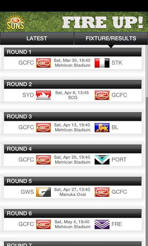 GC SUNS - screenshot