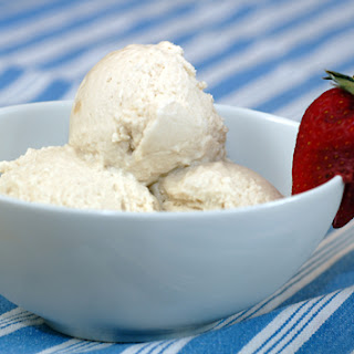Vegan Vanilla Ice Cream.