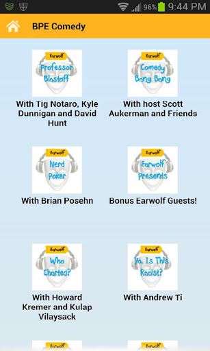 Earwolf Comedy Podcasts