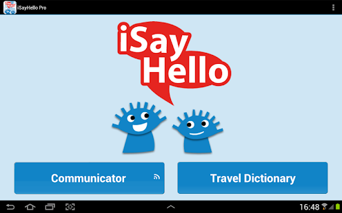 iSayHello Communicator Free screenshot