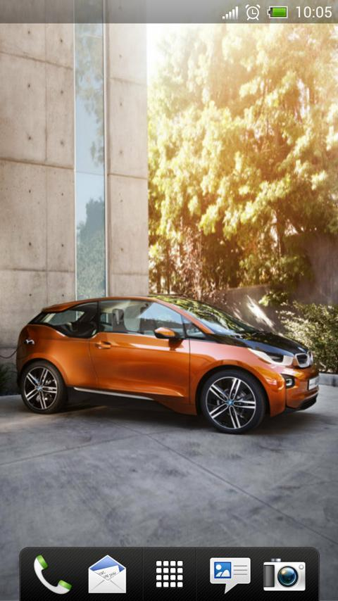 BMW i3 Coupe Live Wallpaper - screenshot