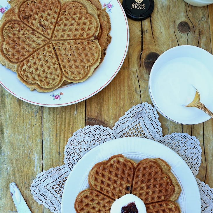 Greek Yogurt Golden Waffles Recipe