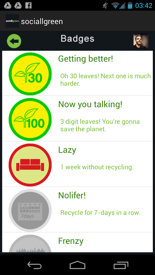 Sociallgreen- screenshot