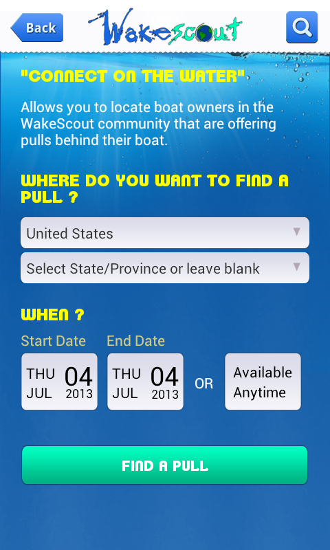 WakeScout - screenshot
