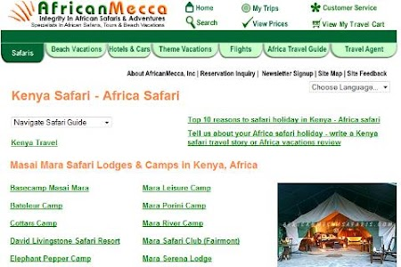 Masai Mara Safari Guide screenshot 1