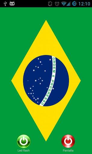 Screen flashlight led Brazil