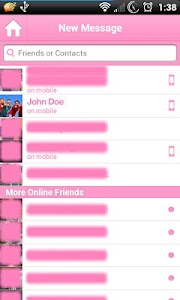Pink for Facebook Messenger screenshot 4