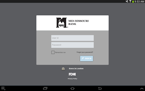 Mid-Missouri Bank - screenshot thumbnail