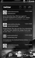 Screenshot of GOWidget Theme SkullGray-Free