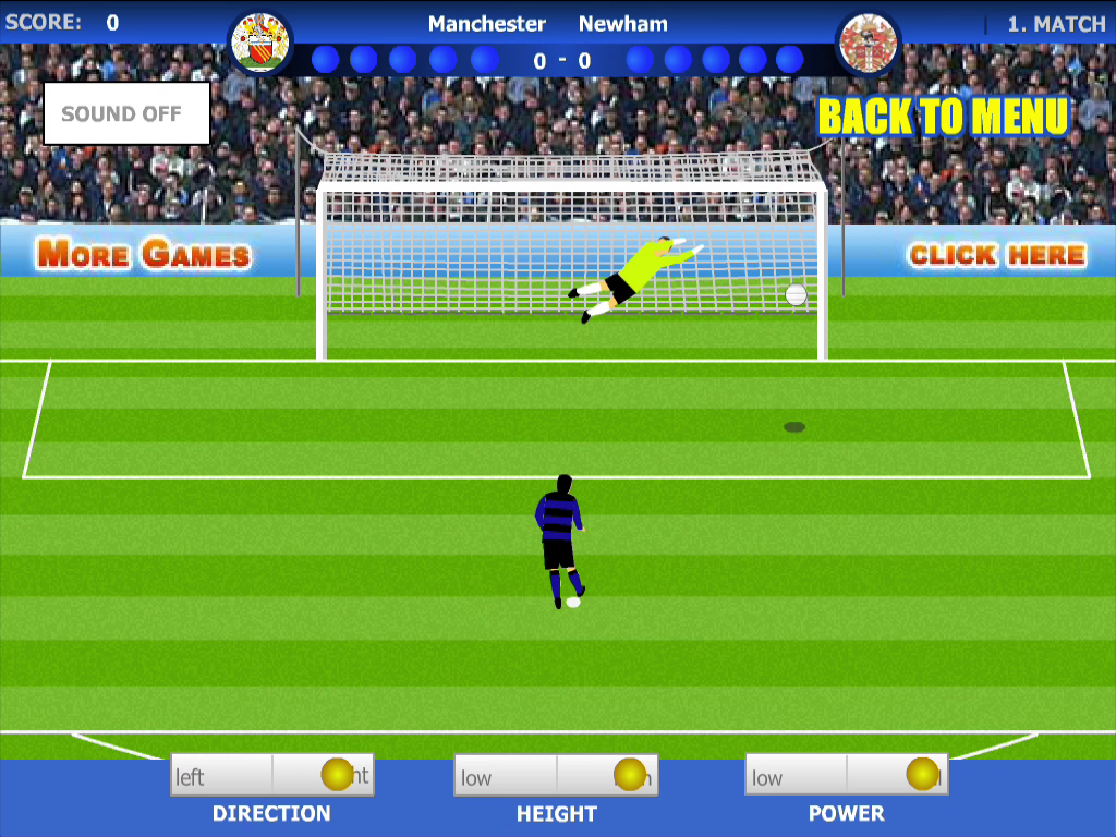 Penalty League - Soccer Game - screenshot