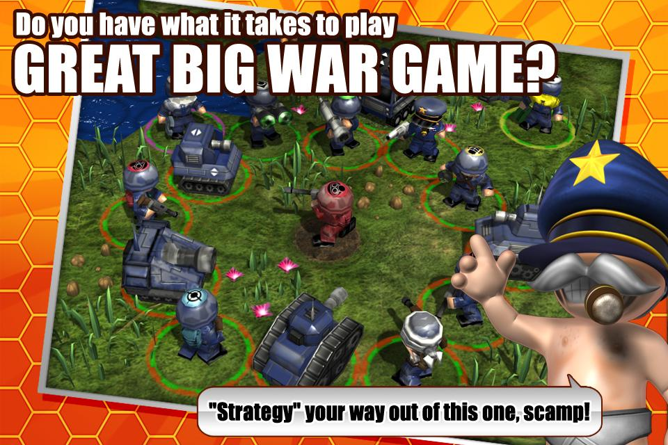 Great Big War Game - screenshot