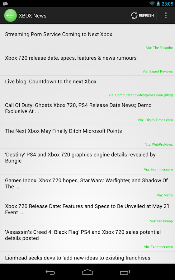 XBOX One News - screenshot
