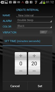 Gymboss Interval Timer - screenshot thumbnail