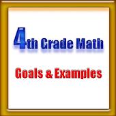 4th Grade Math, Goals&Examples