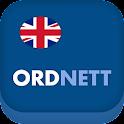 Ordnett - Engelsk blå ordbok