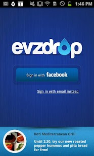 Evzdrop- screenshot thumbnail