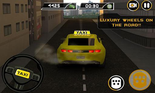 미친 택시 드라이버 러쉬 택시 기사